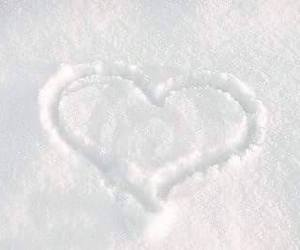 cold, draw, and heart image