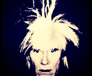 andy warhol, artsy, and black & white art image