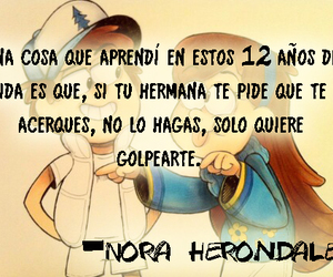frases, nora, and hermana image