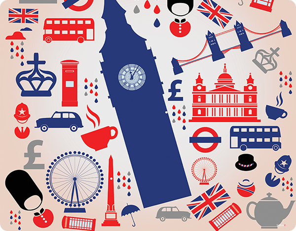 background and london image