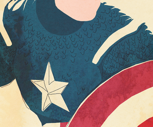 captain america, Marvel, and wallpaper image