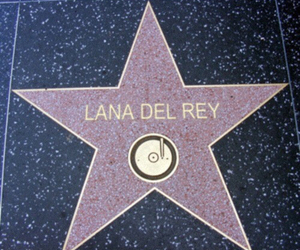 lana del rey, stars, and Walk of Fame image