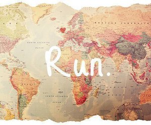 run, world, and travel image