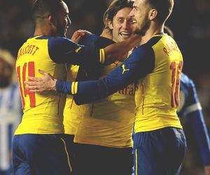 Arsenal, aaron ramsey, and theo walcott image