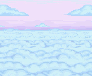 pixel, pastel, and cute image