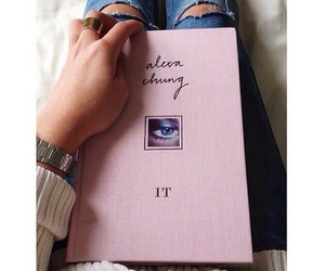 alexa chung, books, and it image