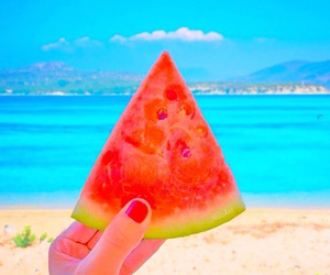beach, healthy, and summer image