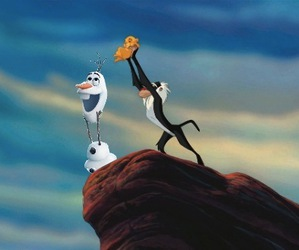 disney, funny, and lion king image