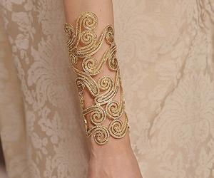 bracelet, lace, and ornament image