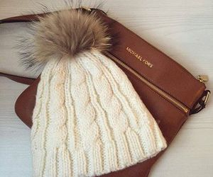 winter, fashion, and hat image