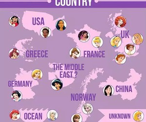 disney, princess, and country image