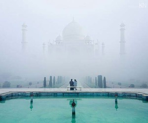 india, taj mahal, and Temple image