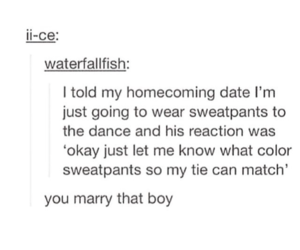 date, funny, and homecoming image