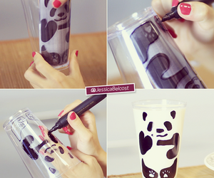 panda and diy image