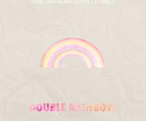 katy perry and double rainbow image
