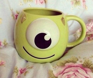 bed, cup, and cute image