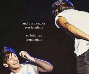 larry, 1d, and louis tomlinson image