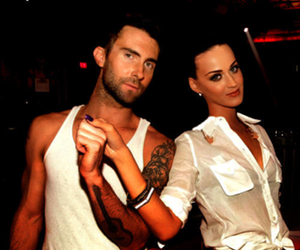 katy perry, adam levine, and maroon 5 image