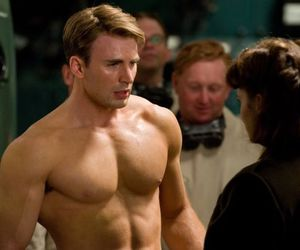 body, Hot, and captain america image