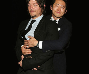 twd, actor, and glenn image