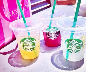 starbucks and summer image