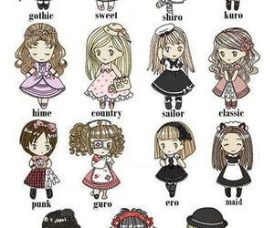 classic, fashion, and gothic image