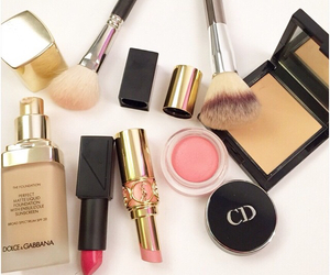 Brushes, dior, and makeup image