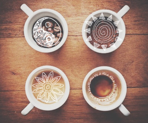 coffee, cup, and brown image