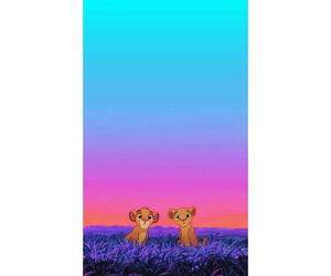 disney, iphone wallpaper, and lion king image