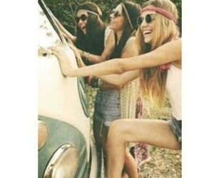 hippie and friends image