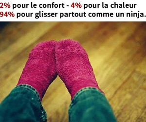 french, ninja, and chaussettes image