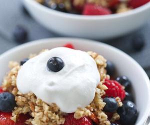 food, berries, and breakfast image