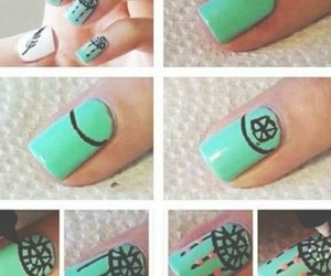 nails, tutorial, and cute image