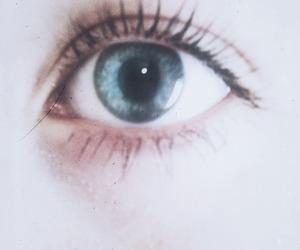 blue, eye, and mascara image