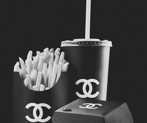 McDonalds, MM, and chanel food image