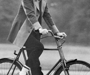 Paul McCartney, 60s, and bike image