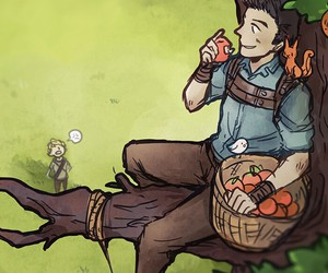 apple, drawing, and Minho image