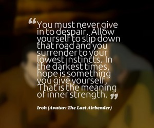 avatar, quote, and aang image