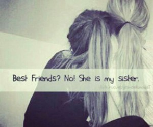 sisters, best friends, and hair image