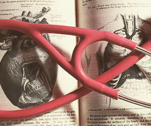 anatomy, studying, and heart image