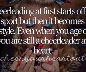 allstar, cheer, and cheerleader image