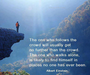 quote, life, and Albert Einstein image