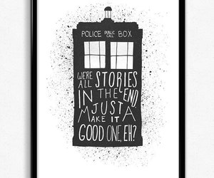 art, doctor who, and geek image