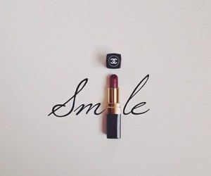 black, chanel, and smile image
