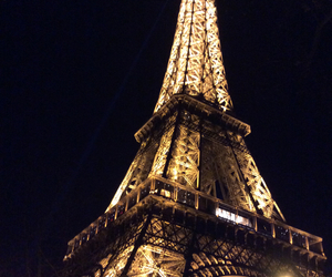 eiffel tower, france, and love it image