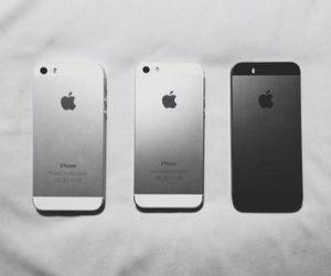 black, iphone, and grunge image