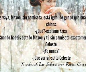 kiera cass, maxon schreave, and the selection image