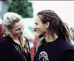 connection, dreadlocks, and couple image