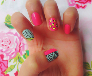 fashion, nails, and tribal image