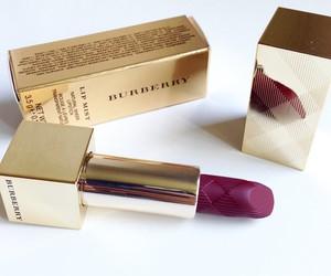 Burberry, lipstick, and makeup image